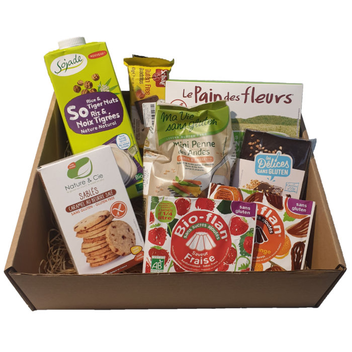 box sans gluten