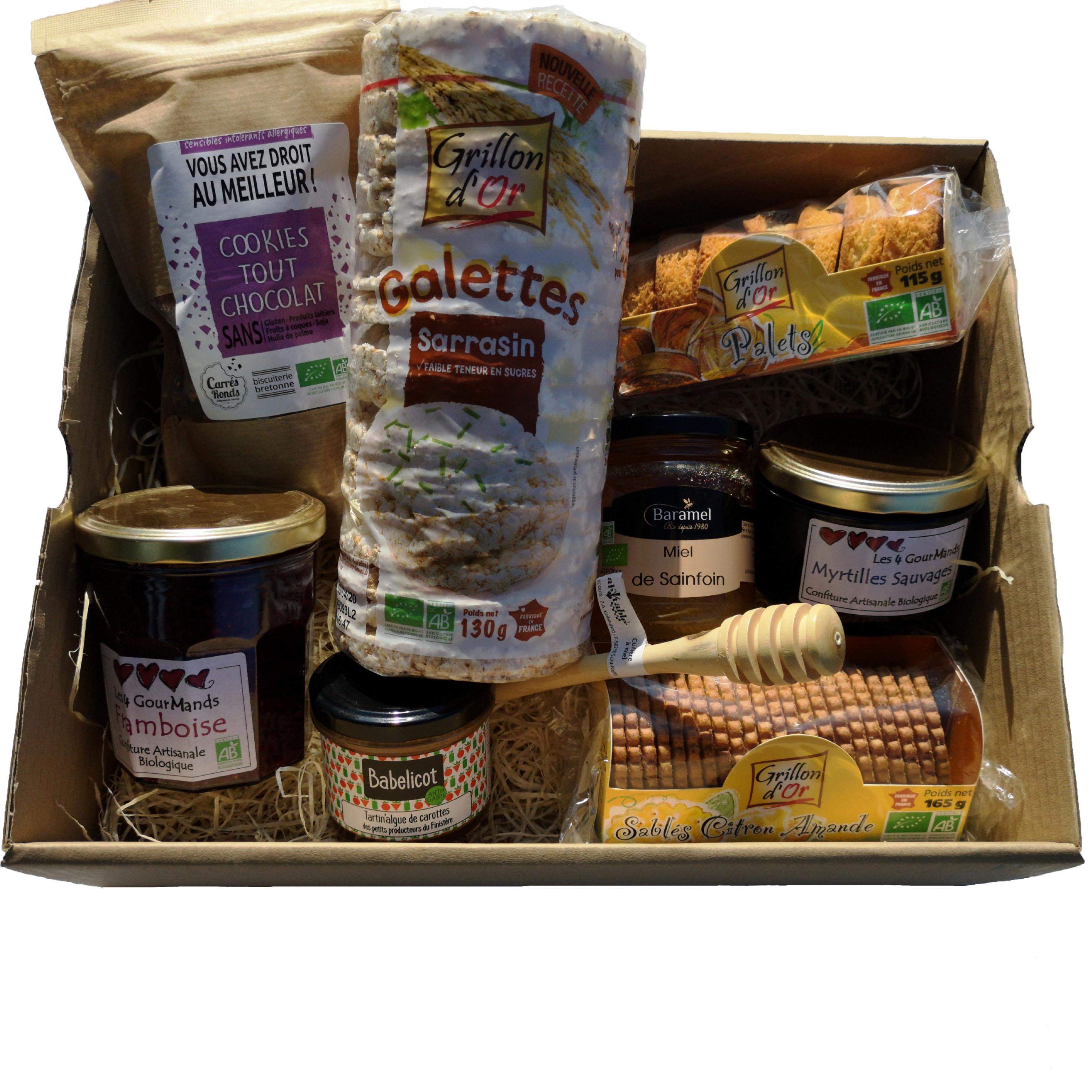 Panier garni produits bretons exemple grand