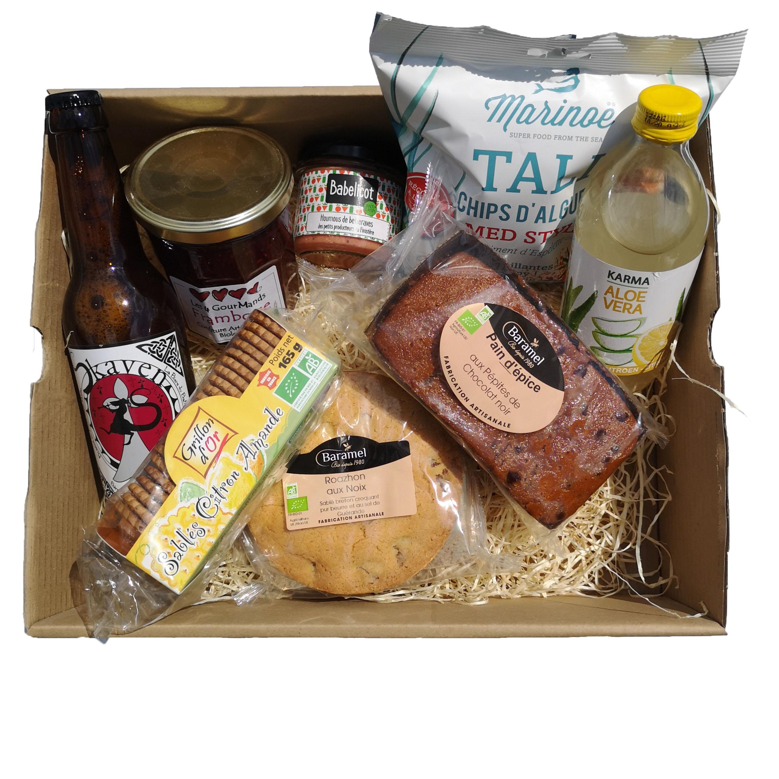 Panier garni produits bretons exemple moyen