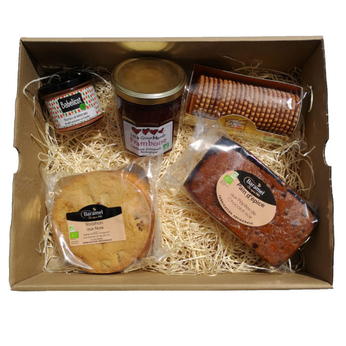 Panier garni produits bretons exemple petit