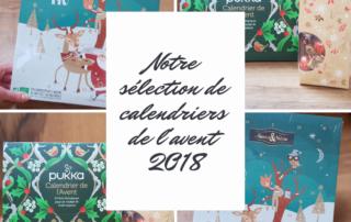 notre sélection de calendriers de l'avent 2018