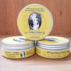 le beurre de karité bio – la savonnerie champagne