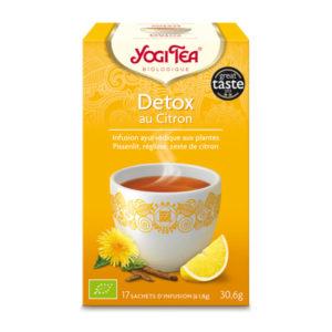 infusion détox au citron – yogi tea