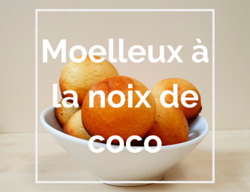 Recette : Moelleux à la noix de coco
