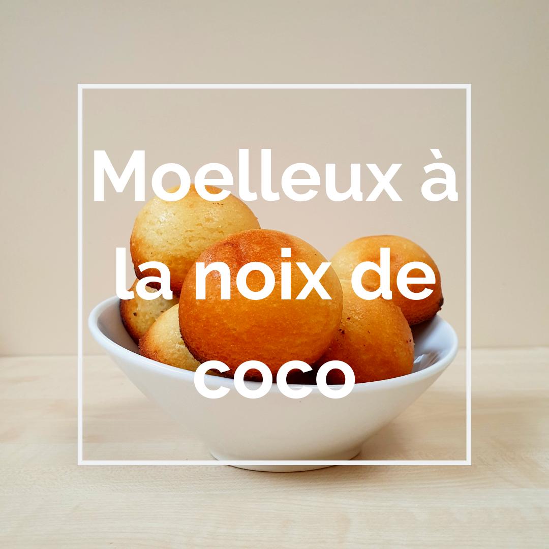 moelleux À la noix de coco recette visuel