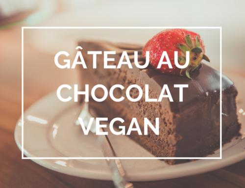 Recette : Gâteau au chocolat vegan