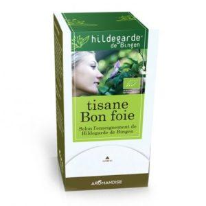 aromandise tisane bon foie