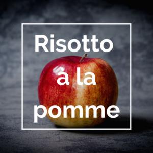 risotto à la pomme
