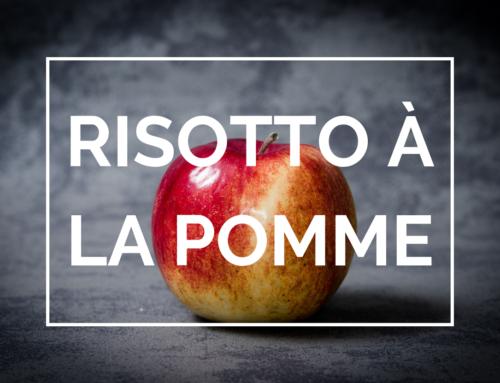 Recette: Risotto à la pomme